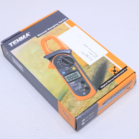 NEW TENMA 72-7224 DIGITAL CLAMP MULTIMETER
