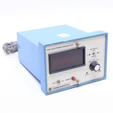 * DATAMETRICS 1400 1400-5A4, 6 ELECTRONIC MANOMETER