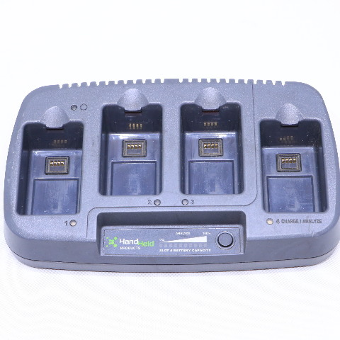 HAND HELD 7850-QCE CHARGER STATION QUAD 4SLOT 7850 DOLPHIN 12VDC
