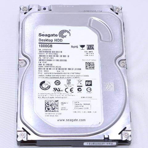 SEAGATE ST1000DM003 DESKTOP HDD 1000GB HARD DRIVE 3.5 3H