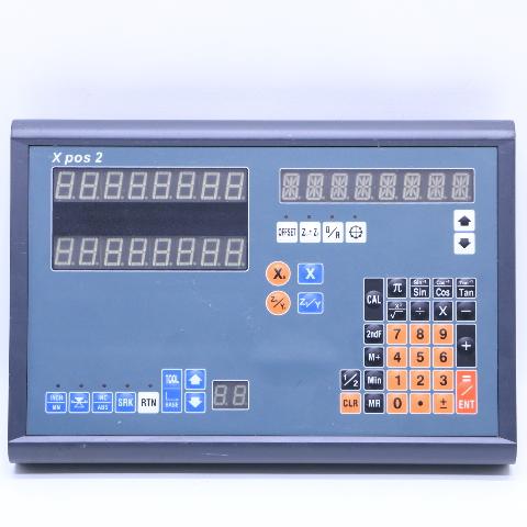 XPOS2 2 AXIS DISPLAY DIGITAL READOUT