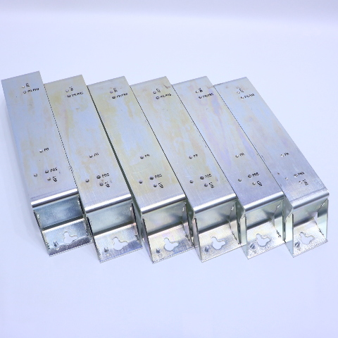 * LOT OF 6 ALLEN BRADLEY 7410626801 MOUNTING BRACKET FOR 2090-XXLF-3100 2094-PRS8