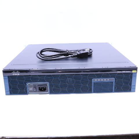 CISCO 2800 CISCO2821-V08 ROUTER W/ 128 MB CARD