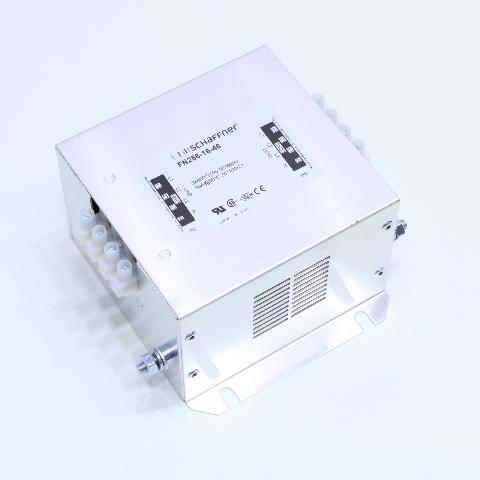 NEW SCHAFFNER FN256-16-46 POWER LINE FILTER 16A 480VAC