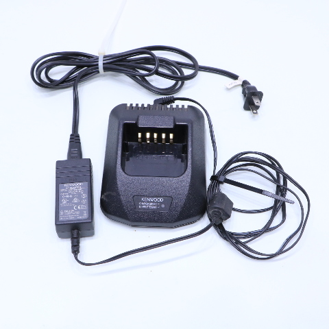 KENWOOD KSC-25 RAPID CHARGER AND AC POWER ADAPTER