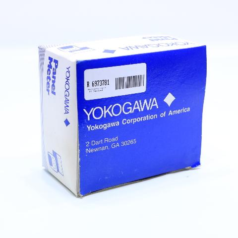 * NEW YOKOGAWA 250 PANEL METER 0-10 A-C AMPERES 0-10 DCV