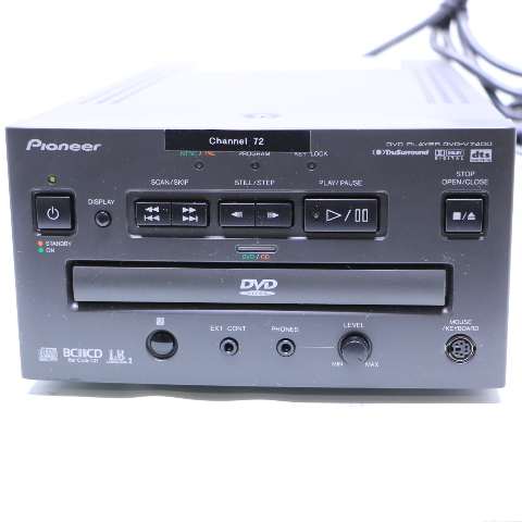 PIONEER DVD-V7400 DVD PLAYER W/ REMOTE
