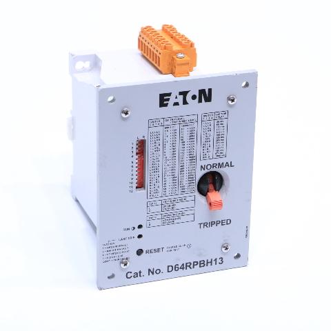 EATON D64RPBH13 120V GROUND FAULT RELAY