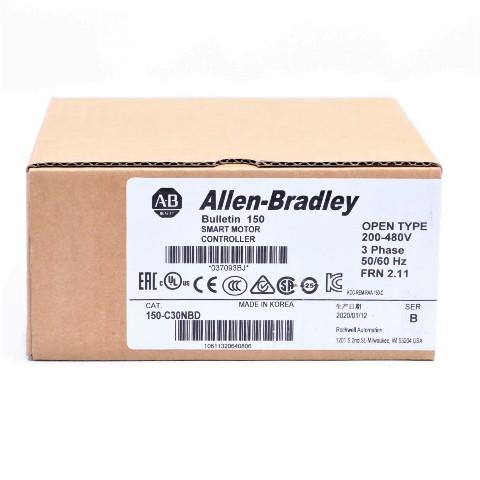 * 2020 NEW SEALED ALLEN BRADLEY 150-C30NBD B 2.11 SMART MOTOR CONTROLLER