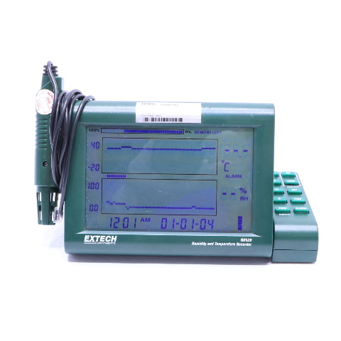 EXTECH RH250 HUMIDITY AND TEMPERATURE RECORDER