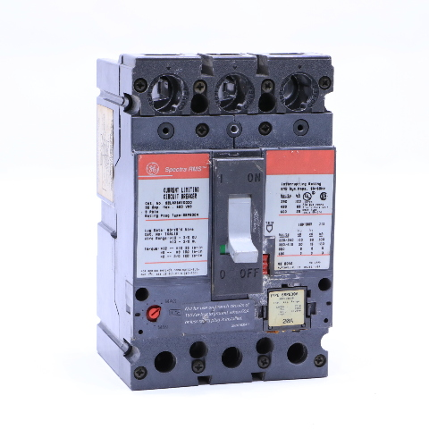 GE SPECTRA RMS SELA36AT0030 30A, 600V, 3P CIRCUIT BREAKER