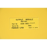 FANUC A03B-0801-C121 INPUT MODULE 1D16C AND A03B-0801-C449 OUTPUT MODULE 16POINT OD16H