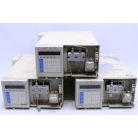 * QTY. (1) SHIMADZU LC-10AT LIQUID CHROMATOGRAPH