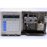 * SHIMADZU LC-10AT LIQUID CHROMATOGRAPH