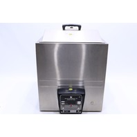 * LAB-LINE 3086 STAINLESS STEEL HEATED CIRCULATING WATER BATH W/ THERMOMETERS