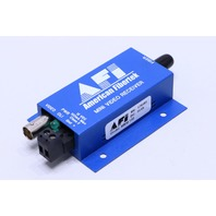 NEW AFI AMERICAN FIBERTEK MRM-100 MINI VIDEO RECEIVER
