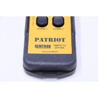REMTRON PATRIOT 25T10A  198012-12 CRANE REMOTE PENDANT CONTROL