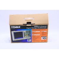 TENMA 72-2580 30MHz 2-CHANNEL DIGITAL STORAGE OSCILLOSCOPE