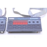 LOT OF 2 HARDY PROCESS SOLUTIONS HI 2151 / 30WC KEYPAD WAVESAVER C2 IT SCALE CONTROLLER