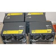 LOT OF (4) CISCO CATALYST 4507R WS-X4548-GB-RJ45V MODULES