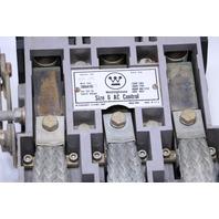 * WESTINGHOUSE SIZE 6 CONTACTOR TYPE GCA-630 600A 600VAC 60HZ 3 POLE