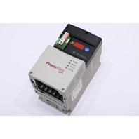 * ALLEN BRADLEY POWERFLEX 40P 22D-D6P0N104 SER A AC DRIVE 3HP