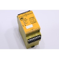 * PILZ 777310 PNOZ X3P 24VDC 3N/O 1N/O 1SO SAFETY RELAY