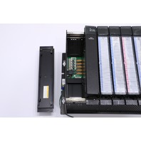 * GE FANUC 90-70 9-SLOT CONTROLLER WITH MODULES IC697MDL341 *WARRANTY*