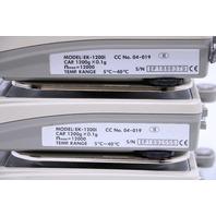 LOT OF (3) A&D EK-1200I  SCALE 1200GX.1G MAX