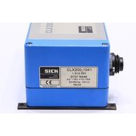 * SICK CLX200-1041 CONTROLLER 115VAC 50/60HZ 30VA