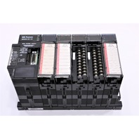 * GE FANUC 90-30 5-SLOT RACK IC693PWR321R IC693MDL940D IC693MDL230C ECT.