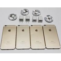 * QTY. (1) APPLE IPHONE 6 PLUS 64GB GOLD UNLOCKED 4G