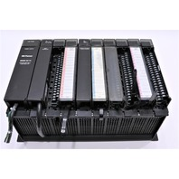 * GE FANUC 90-70 RACK CONTROLLER WITH MODULES IC697PCM711P IC6697MDL653, ECT.