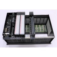 * GE FANUC 90-70 RACK CONTROLLER WITH MODULES IC697PWR710B IC6697MDL340 ECT.