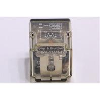 * POTTER & BRUMFIELD KRPA-11AN-120 10A 250VAC RELAY