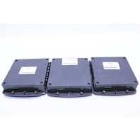 LOT OF (3) EATON CORPORATION CUTLER HAMMER 87C1087G03 XP3-SDM STARTER DISPLAY MODULE W/ 4GB CARDS