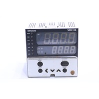 AZBIL CORPORATION C36TC0UA12K0 TEMPERATURE CONTROLLER