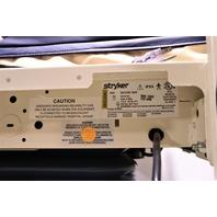 * STRYKER SECURE II 3002 HOSPITAL BED W/ ISOFLEX MATTRESS 2008