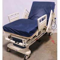 * STRYKER SECURE II 3002 HOSPITAL BED W/ ISOFLEX MATTRESS 2007