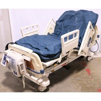 * STRYKER SECURE II 3002 HOSPITAL BED W/ AIR MATTRESS, SW ROTATE PUMP