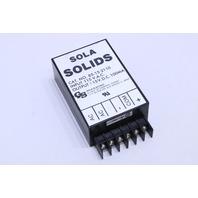 SOLA HD 85-15-2110 POWER SUPPLY INPUT 115 VAC
