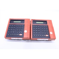 LOT OF (2) KRONOS P/N 8600615-016 480F TIME CLOCK 12-24HOUR