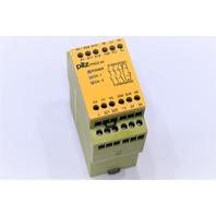 * NEW PILZ PNOZ X4 120VAC 3n/o 1n/c SAFETY RELAY