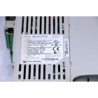 ALLEN BRADLEY 22B-D012N104 POWER FLEX AC DRIVE 7.5 HP 5.5 KW 12/18A 380/480 VAC 3 PHASE