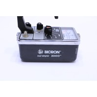 BICRON SURVEYOR 2000 RADIATION SURVEY METER GEIGER COUNTER