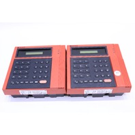LOT OF (2) KRONOS 480F SERIES 400  8600615-021 TIME CLOCK