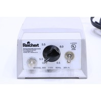 * REICHERT 650 POWER TRANSFORMER