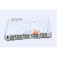 * WAGO 750-456 24VDC 2-CHANNEL ANALOG INPUT MODULE