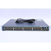CISCO WS-C2960S-48LPD-L CATALYST 2960S 48 GIGE POE370W 2 X 10G SFP- LAN BASE