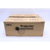 NEC PA550W NP-PA550W PROJECTOR 1313 HOURS ON LAMP